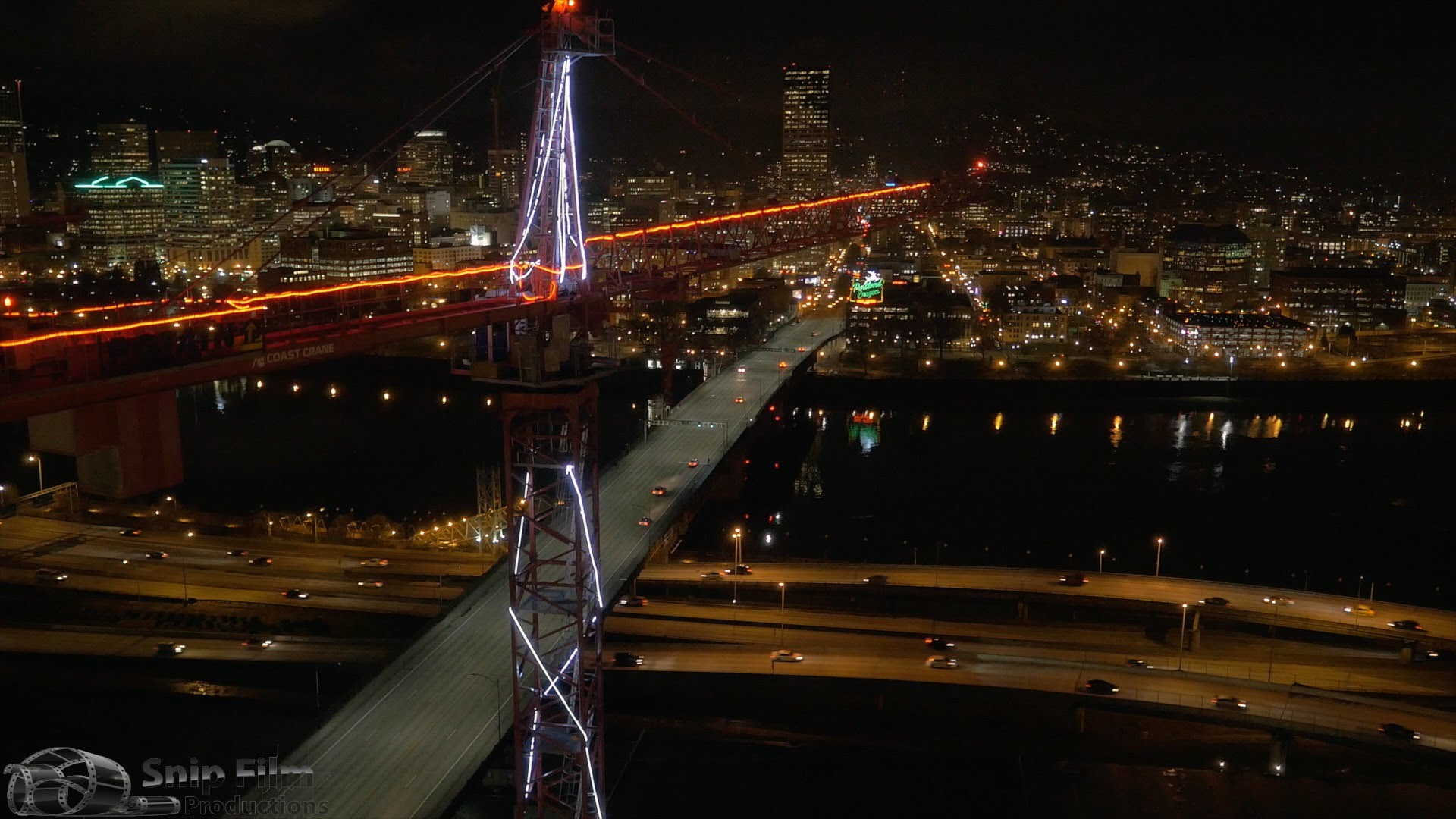 Portland, Oregon - Aerial Drone and Motion Time Lapse ...