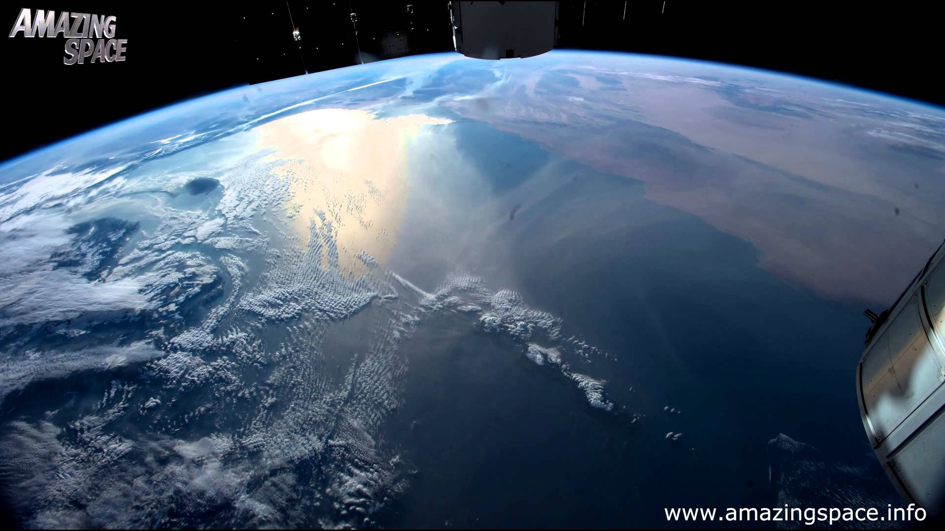 View From Space Time Lapse 4K Ultra HD Video