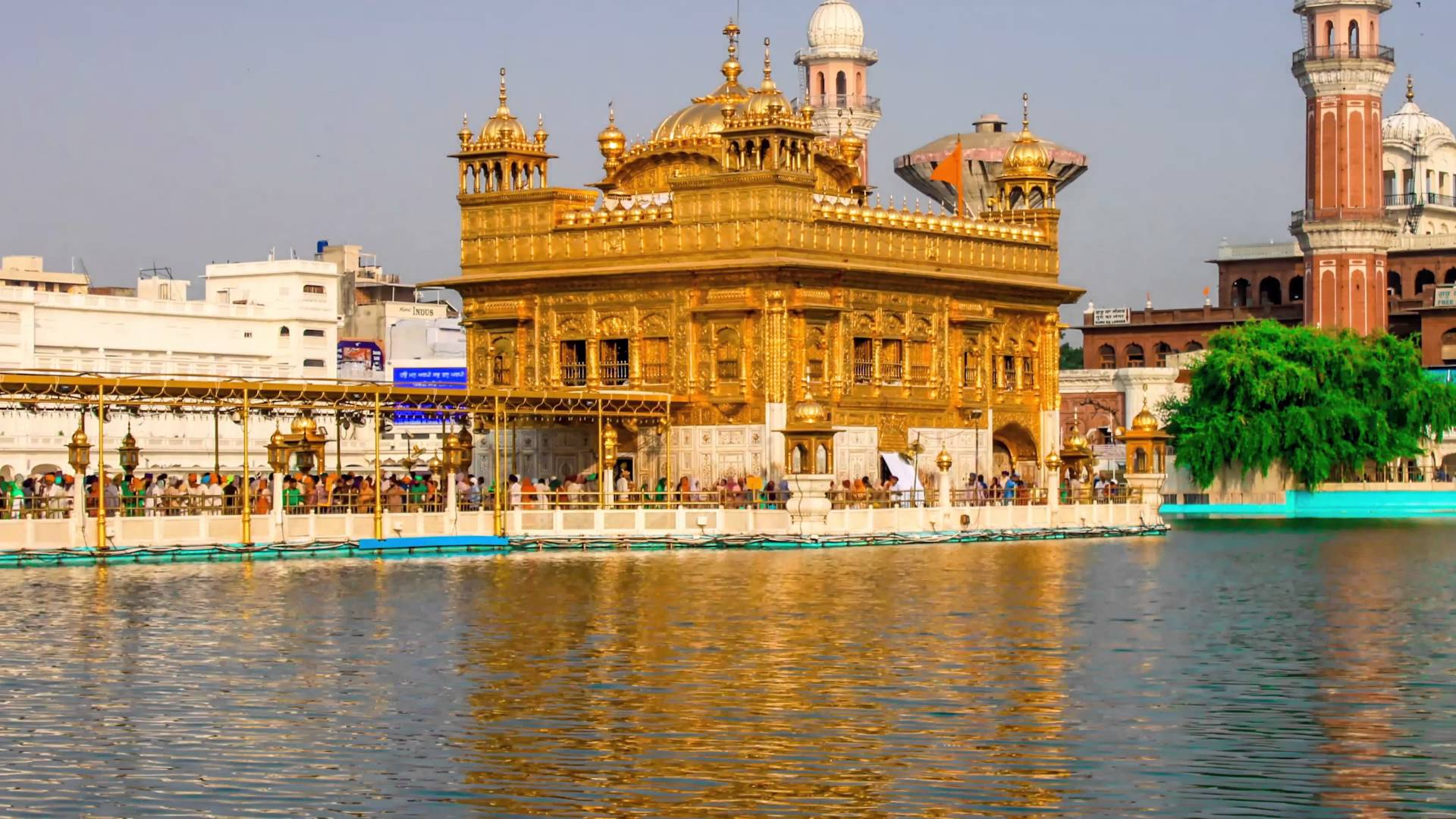 Golden Temple Hyperlapse Timelapse Hd 4k Time Lapse 4k
